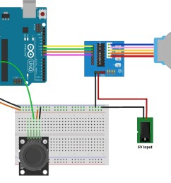 stepper motor control with arduino and joystick [ 2256 x 1698 Pixel ]