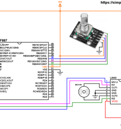 dc motor control with pic16f887 and rotary encoder circuit [ 1246 x 944 Pixel ]