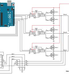arduino brushless dc motor speed control circuit [ 2150 x 1651 Pixel ]