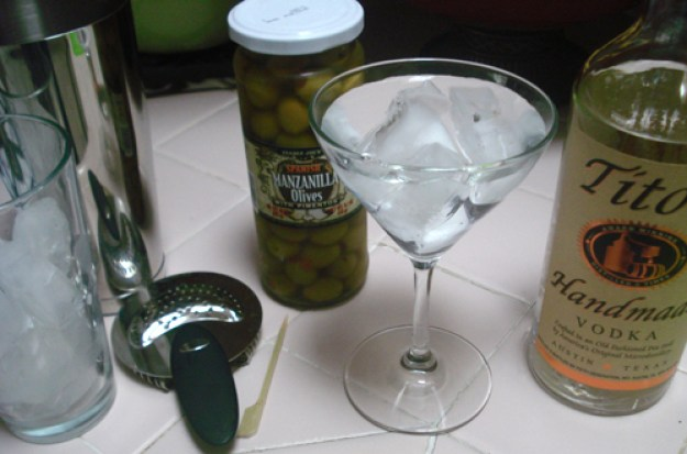 tito's vodka martini