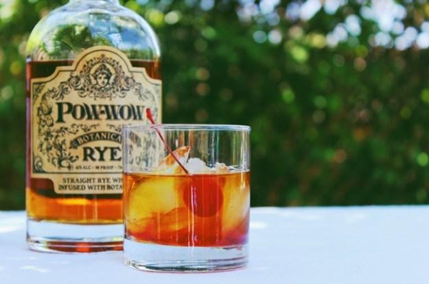 pow wow botanica rye cocktail