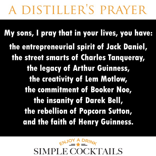 a distillers prayer
