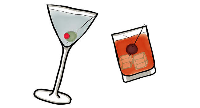 simple cocktails podcast art