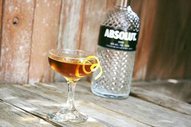 deanne cocktail - absolut