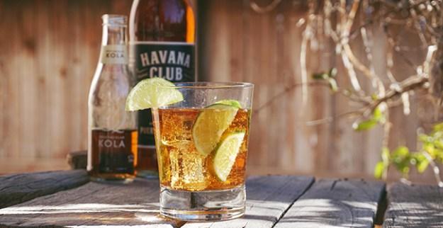 cuba libre with q drinks kola