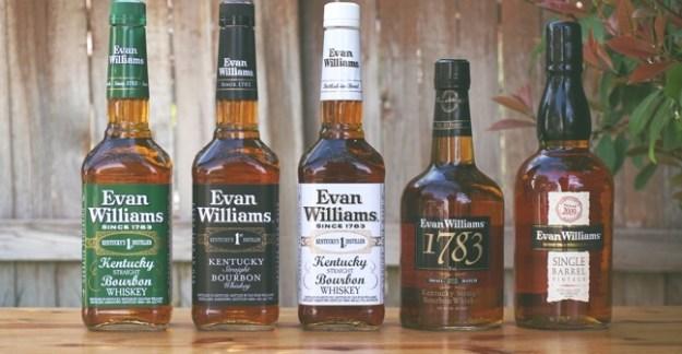 evan williams bourbon family