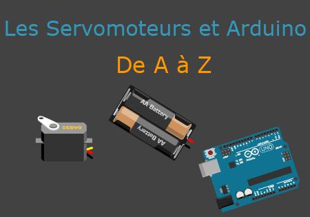 Illustration tutoriel servomoteurs Arduino