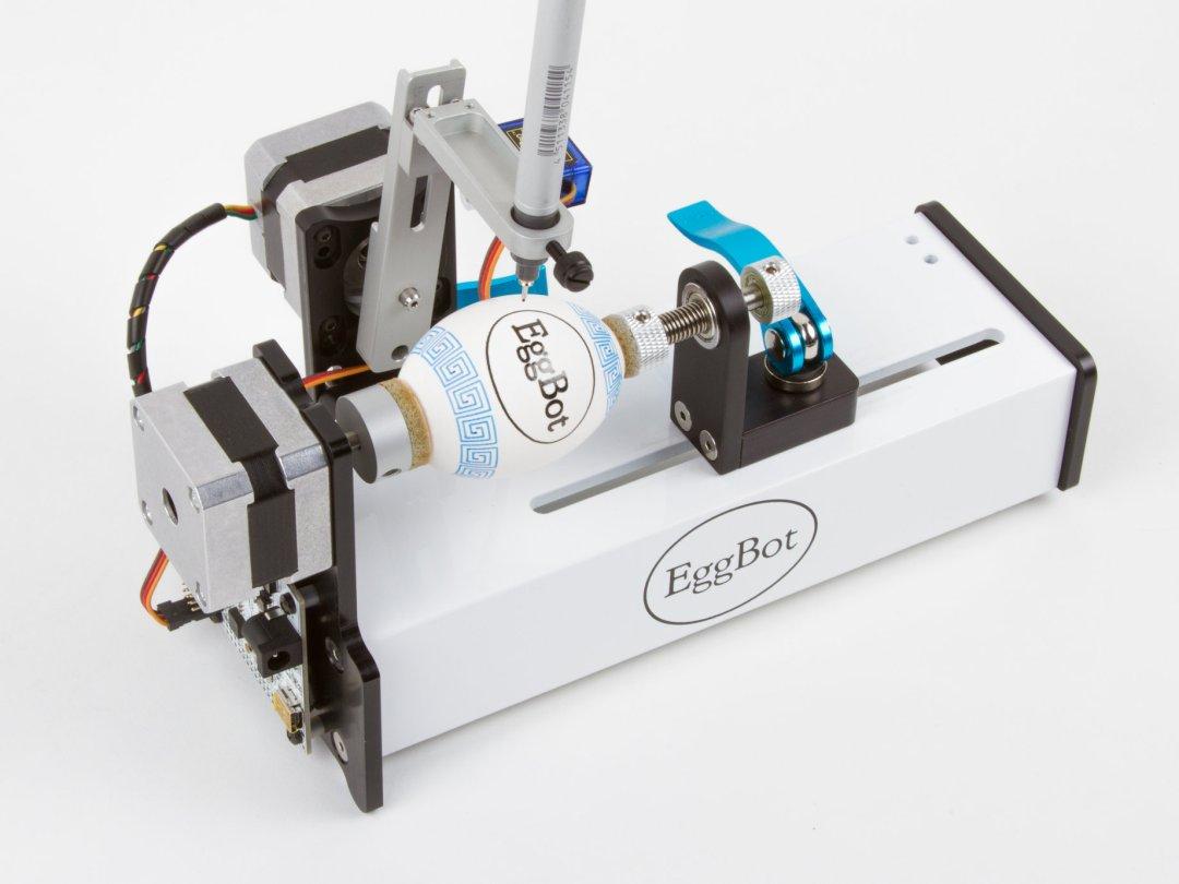 Photographie de la quatrième version de l'eggbot