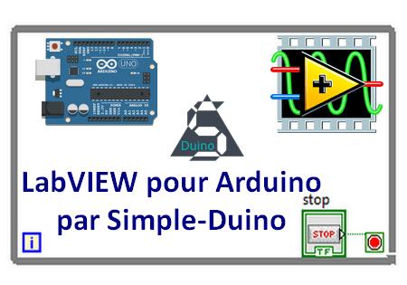 Image de Une du tutoriel expliquant Labview pour Arduino