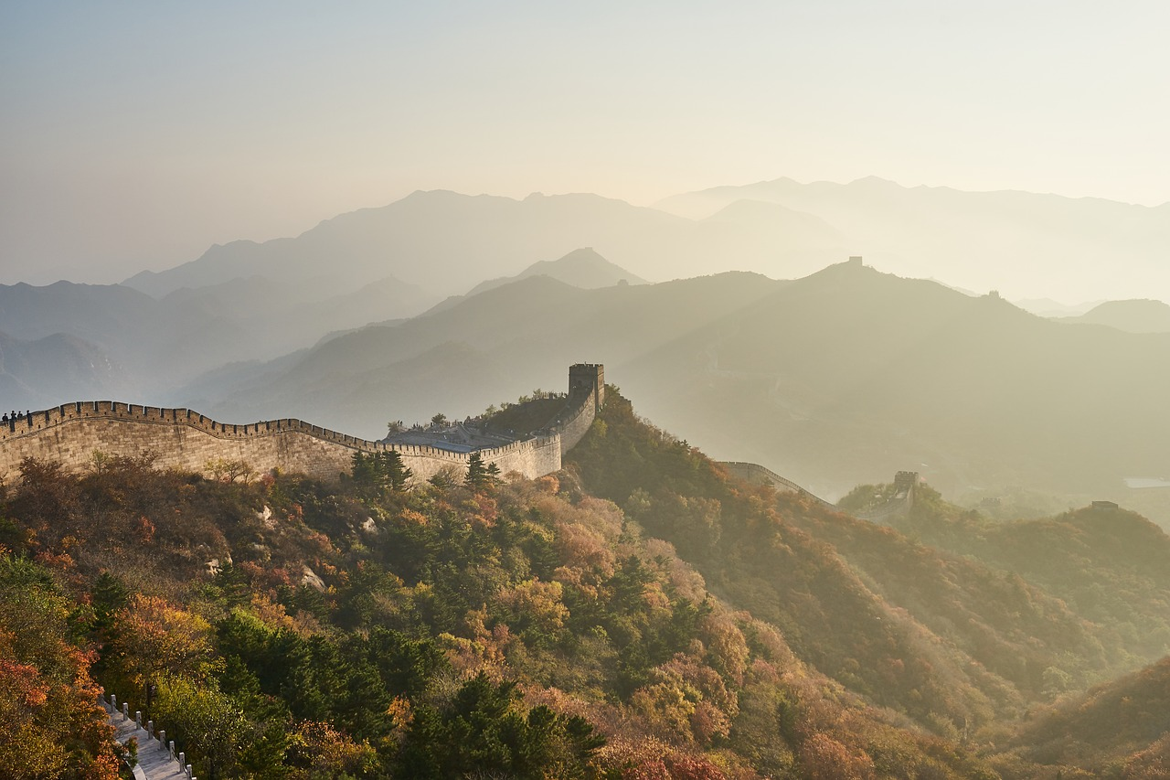 The great wall of China, Chinese lessons exercises