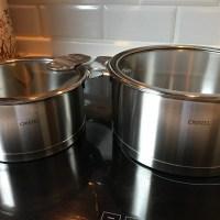 憧れのクリステルの鍋を格安で手に入れ使用しています。