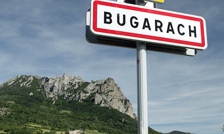 Bugarach, France,apparently a good place to survive the Mayan apocalypse