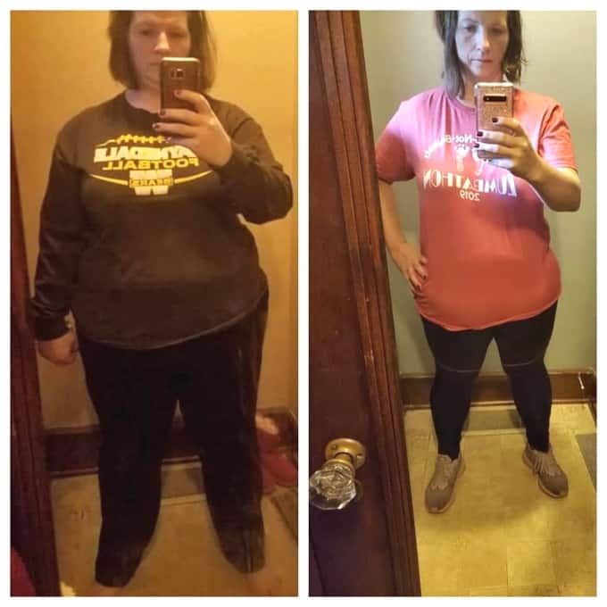 Melissa E. Before and After Weight Loss Success