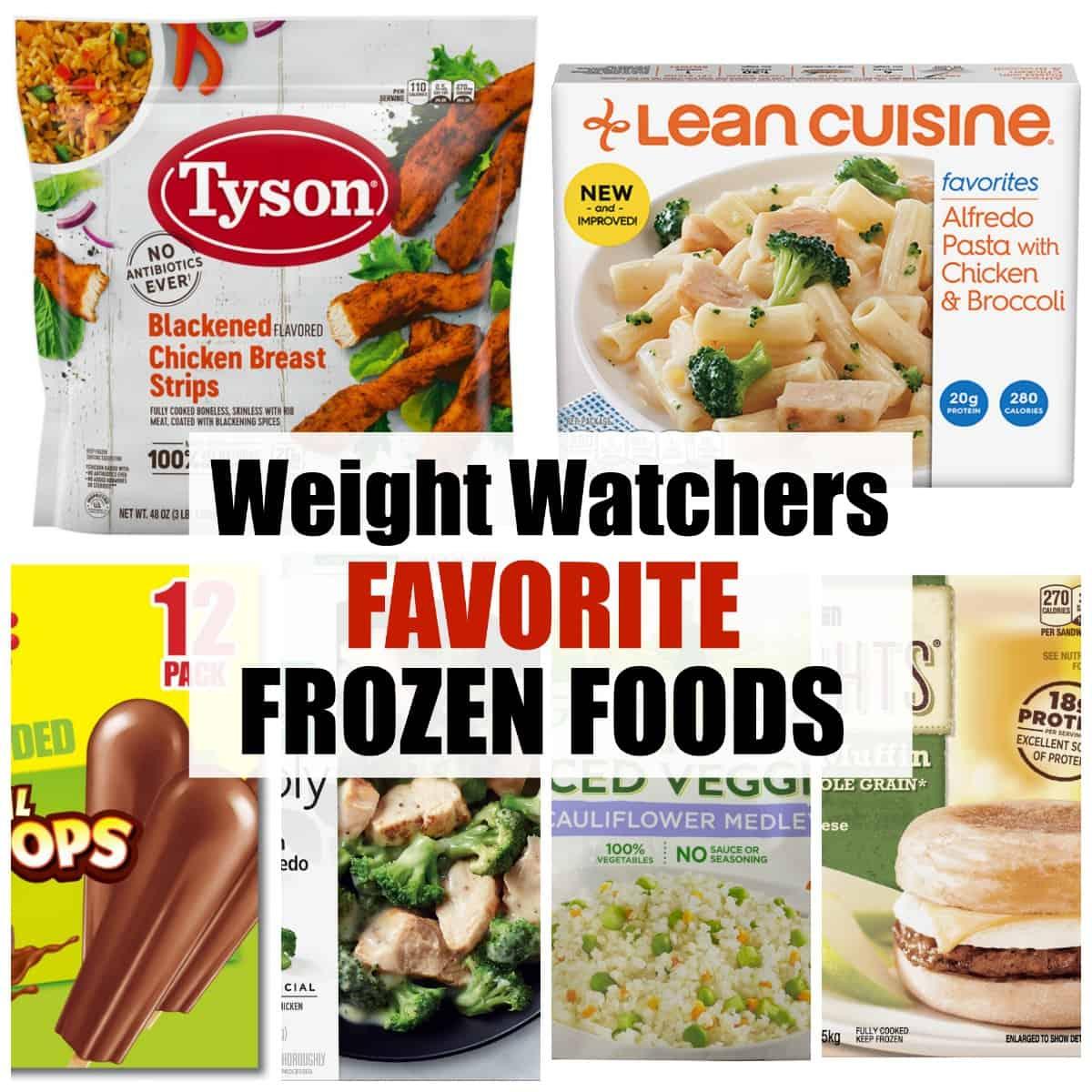 weight watchers favorite frozen foods