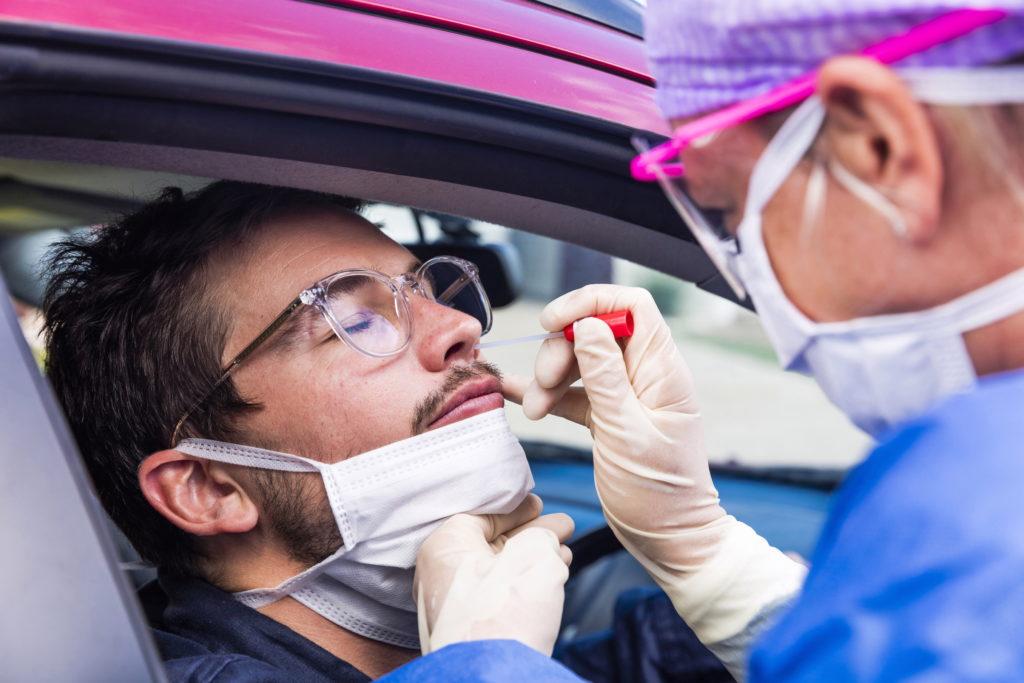 Coronavirus test-Nasal swab
