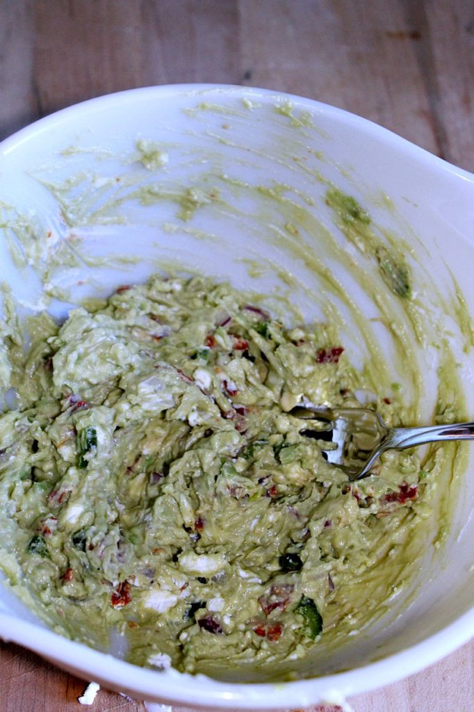 Goat Cheese Guacamole SRC Simple and Savory