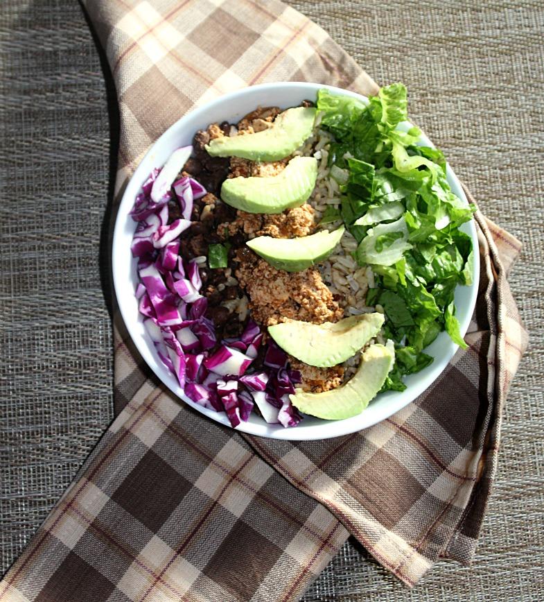 Vegetarian Burrito Bowl Simple and Savory