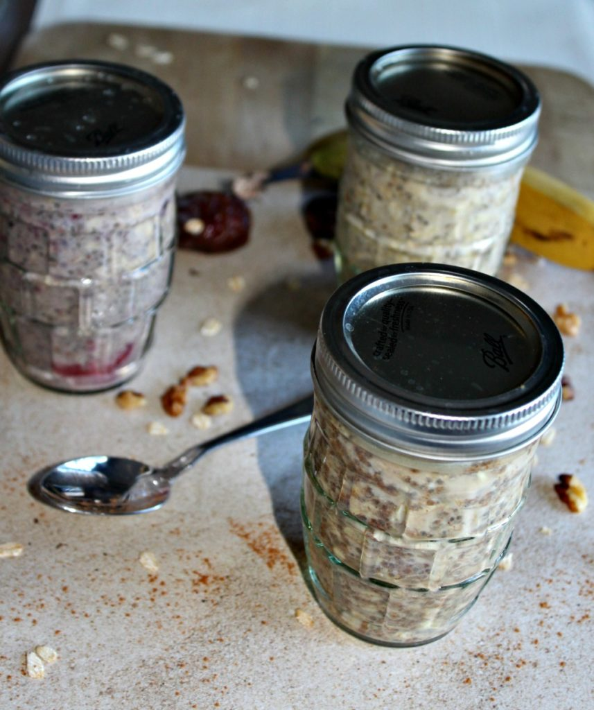 overnight oats to go simpleandsavory.com
