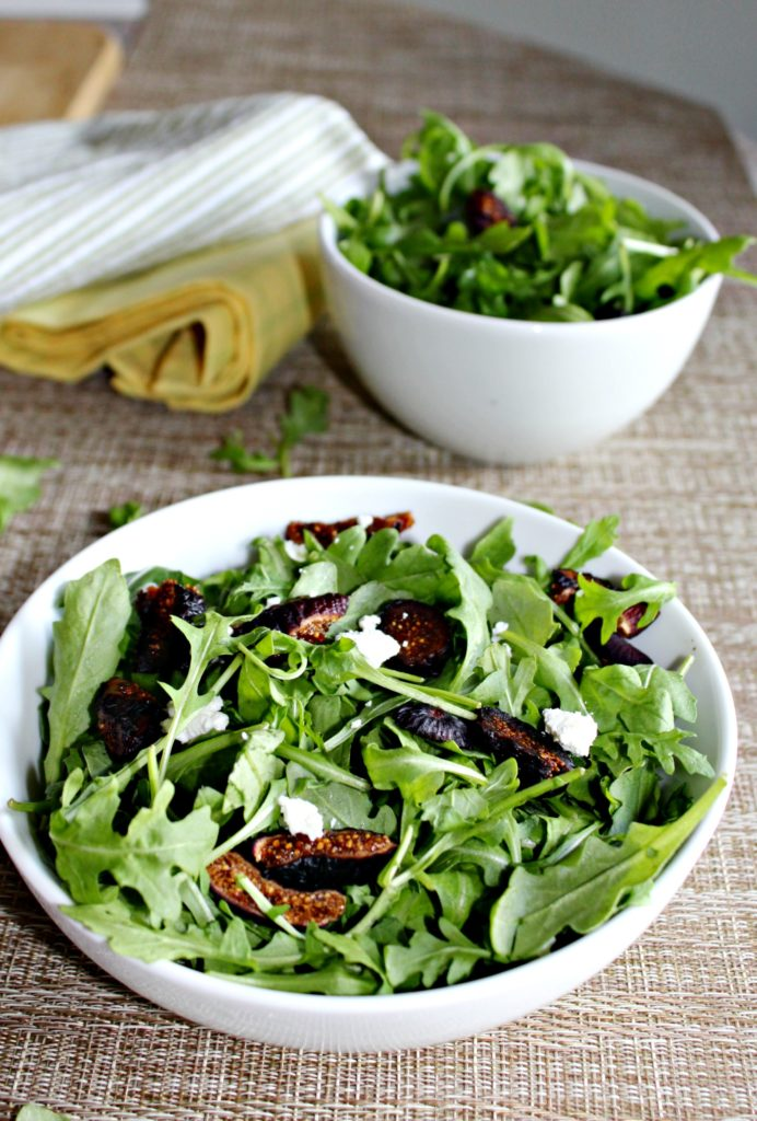 Arugula Fig Salad Simple and Savory