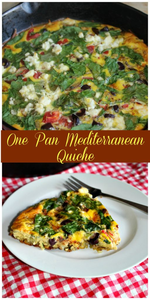 One Pan quiche simpleandsaory