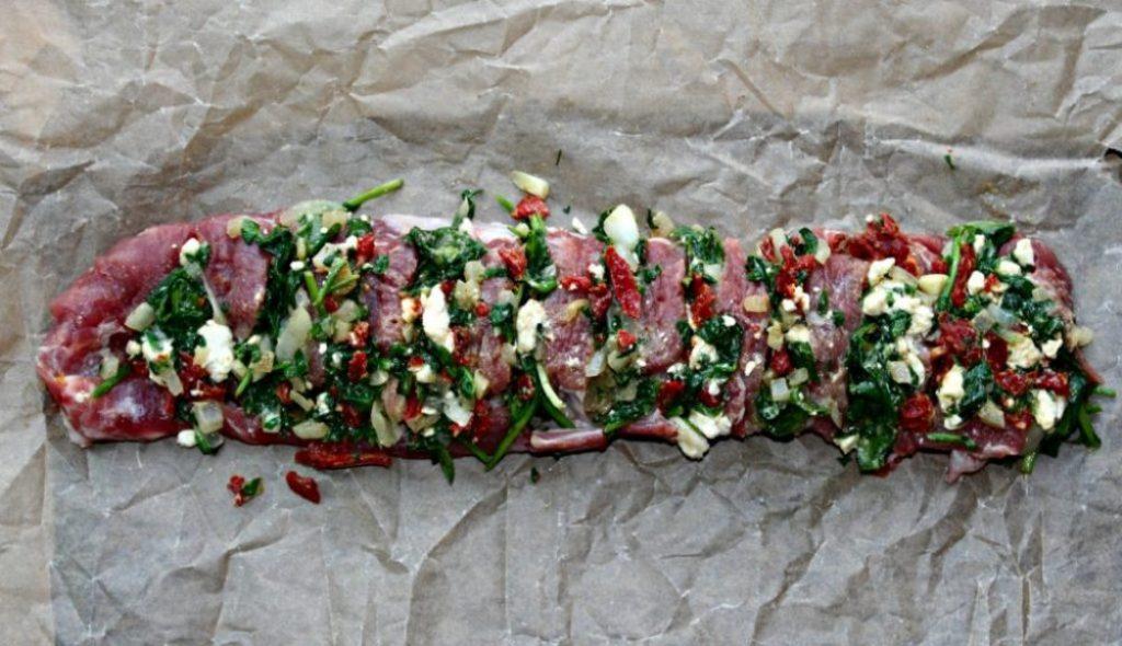 Hassleback pork tenderloin uncooked simpleandsavory.com