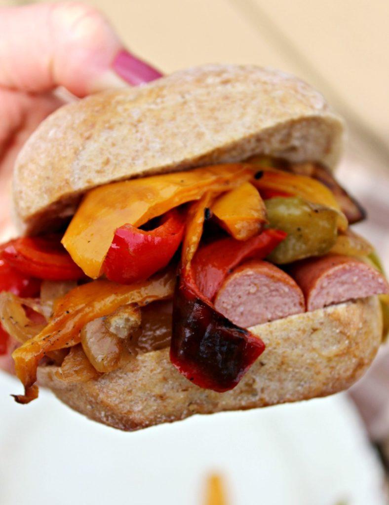 Italian Hot Dog Simple and Savory.com