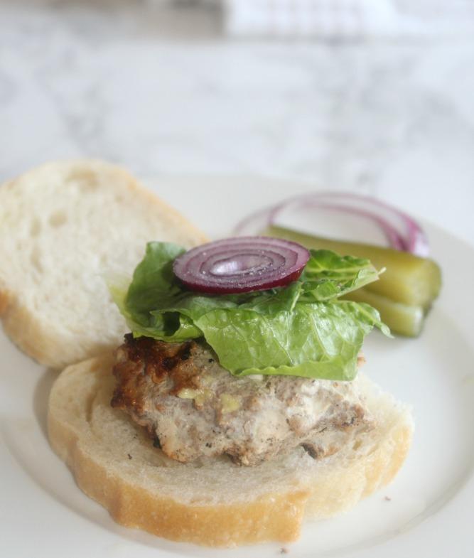 jamaican Jerk chicken burger Simpleandsavor.com