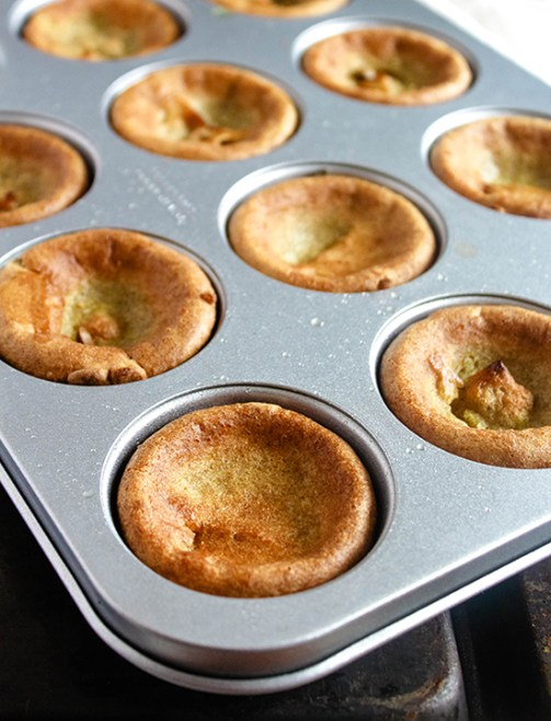 how to use yorkshire pudding tin