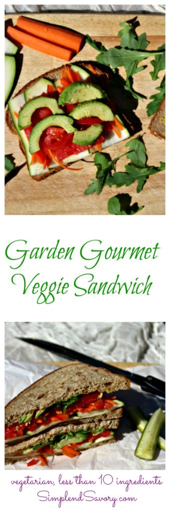 garden-gourmet-veggie-sandwich-made-with-garden-fresh-vegetables-and-sabra-spread-simpleandsavory-com-sponsored