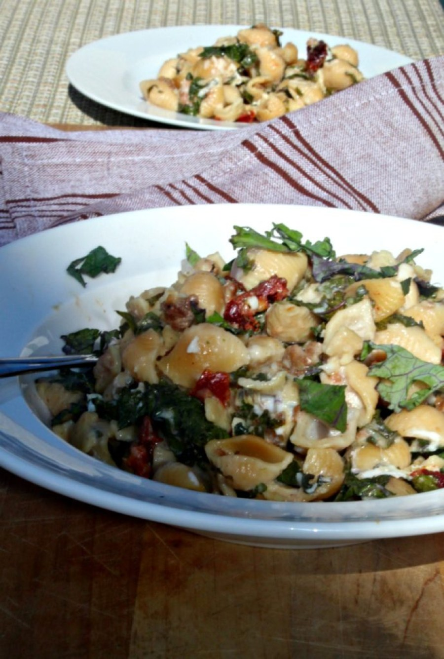 pasta-with-kale-and-turkey-sausage-simpeandsavory-com