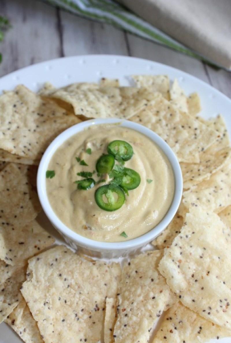 Vegan queso dip simpleandsavory