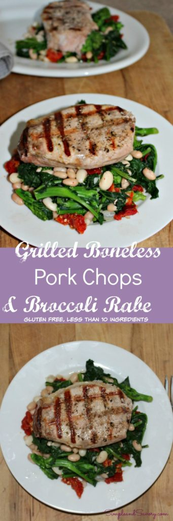 Grilled boneless pork chops @sundaySupper