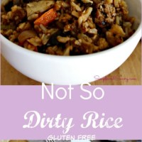 Not So Dirty Rice #SundaySupper