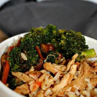 Slow Cooked Orange Chicken gluten free, less than 10 ingredients, paleo