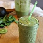 super green smoothie simpleandsavory.com