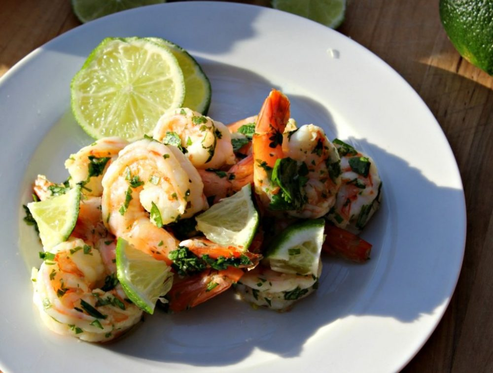 Cilantro Lime Shrimp - Simple And Savory