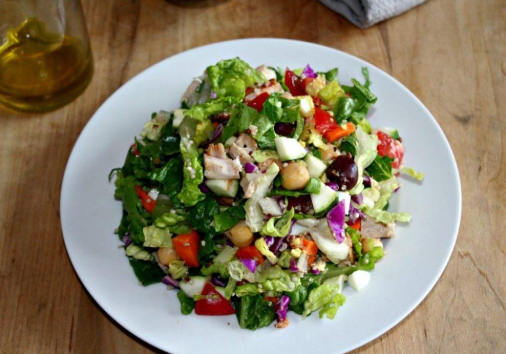 Loaded Chopped Salad sundaysupper