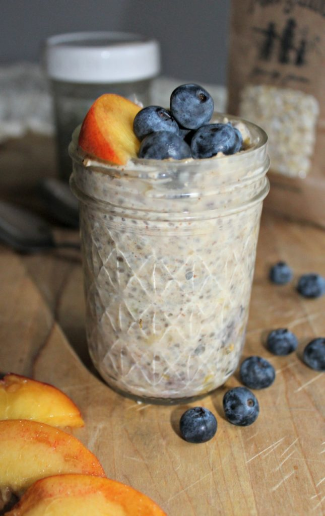 Summer Overnight Oats #FarmersMarketWeek