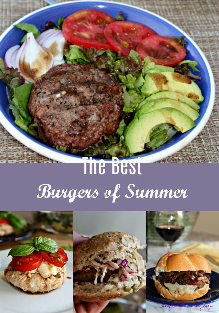The best burgers of summer from SimpleandSavory.com