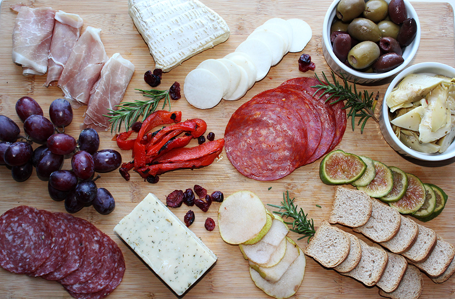 Healthy Charcuterie Board simple and savory.com
