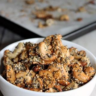 Maple Glazed Cashews