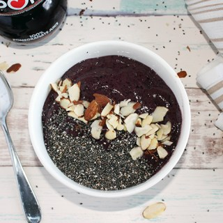 Pomegranate Blueberry Smoothie Bowl