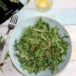 Arugula salad with pistachios simple and savory.com