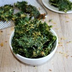 Air Fried Crispy kale chips from Simple and Savory