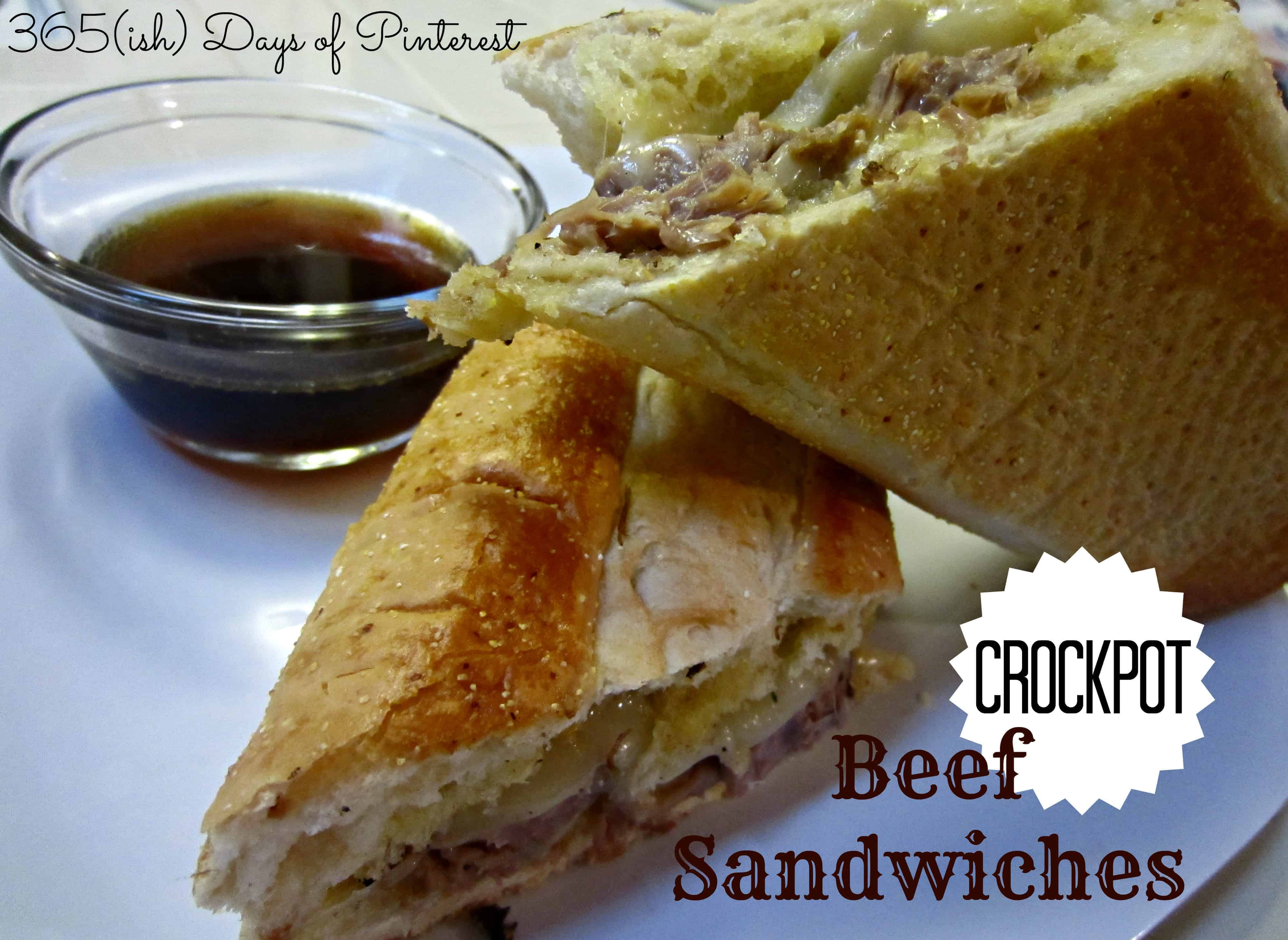 crockpot beef sandwiches