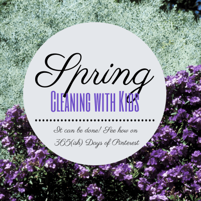 Spring cleaning with kids
