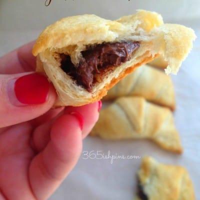 easy nutella pastries