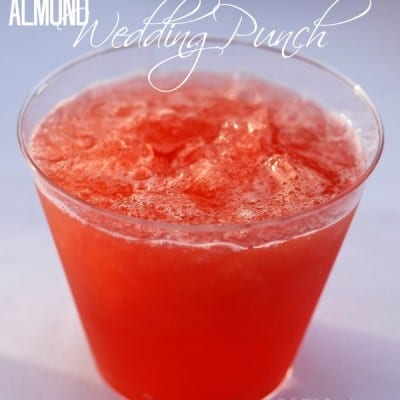Whether you know it as Wedding punch, Almond punch, or something else, this is the BEST party punch!