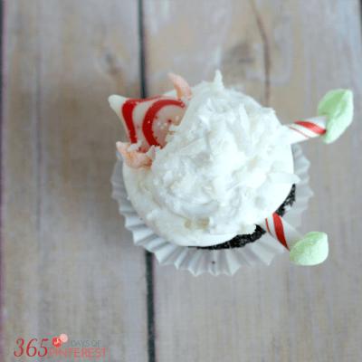 Easy Christmas Cupcake Recipe Elf Cupcake
