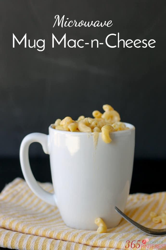 mug macaroni and cheese